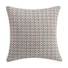 "Habit 18"" x 18"" Color Grid Pillow"