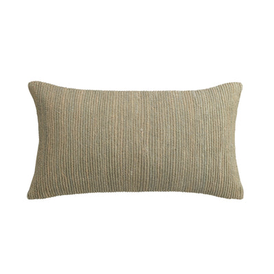 "Habit 11"" x 20"" Metallic Pillow"