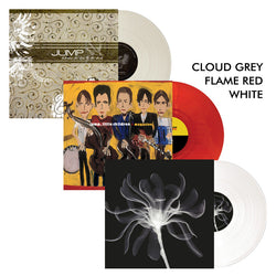 Jump Little Children - pressed on Cloud Grey, Flame Red and White Vinyl for JLC/Mono Stereo