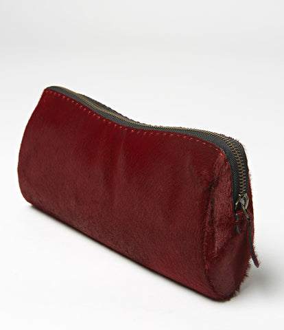 Douala Simple Leather Clutch