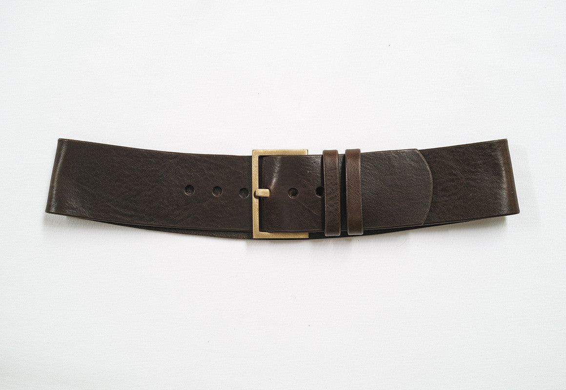 Soha Contour Leather Belt