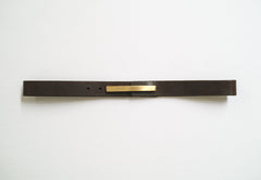 Horizontal Leather Belt