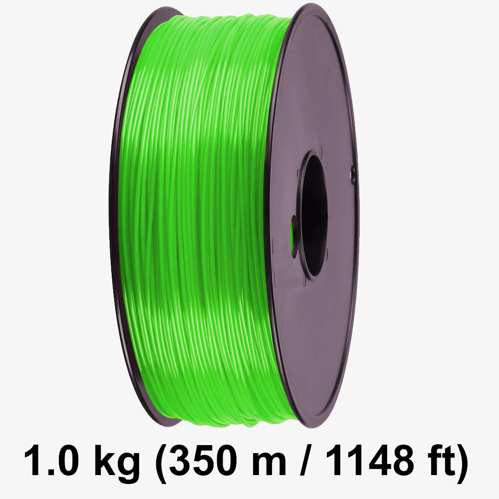 3D Printer Filament 1 KG Roll - ABS 1.75mm - Fluorescent Color Series ~0.02mm variance