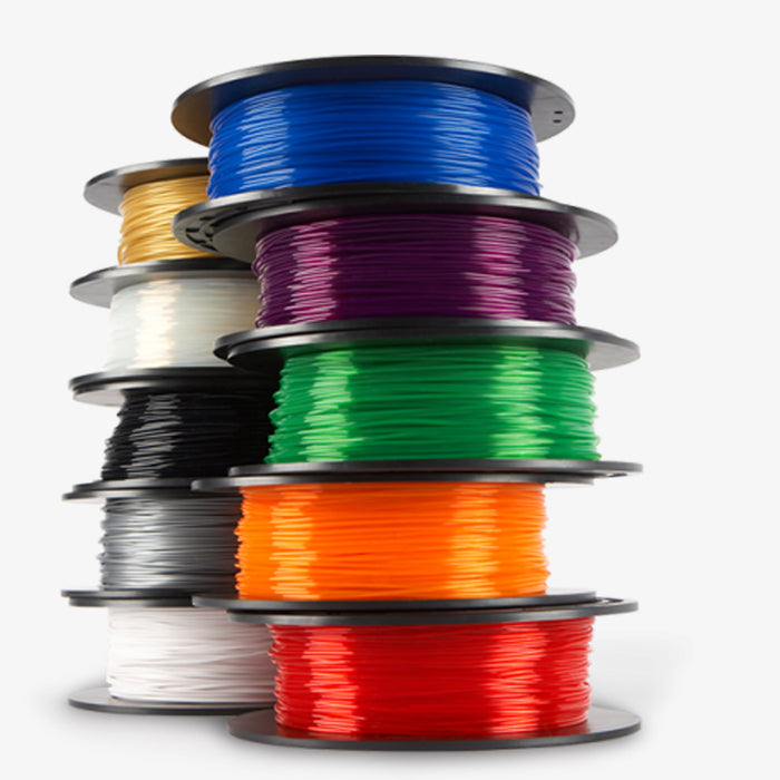3D Printer Filament 500 gr Roll - ABS 1.75mm - Base Color Series - ~0.02mm variance