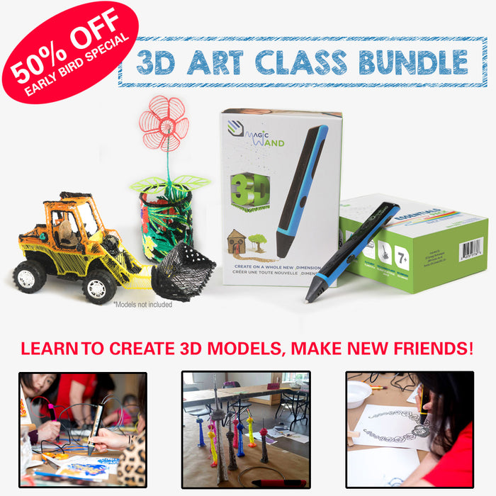3D Magic Wand 3D Pen Class
