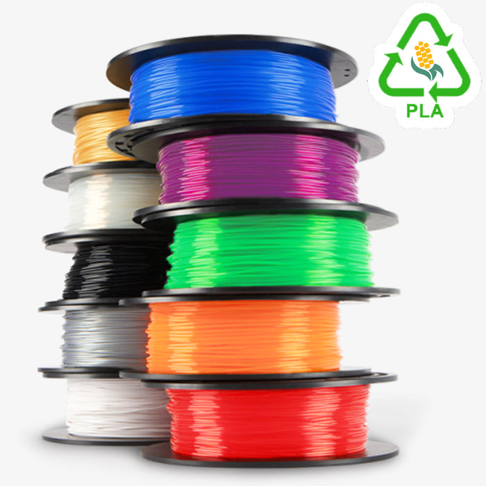 3D Printer Filament 1 KG Roll - PLA 1.75mm - Florescent Color Series ~0.02mm variance