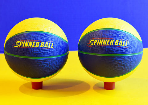2 spinnerball basketballs (shipping included to continental US)