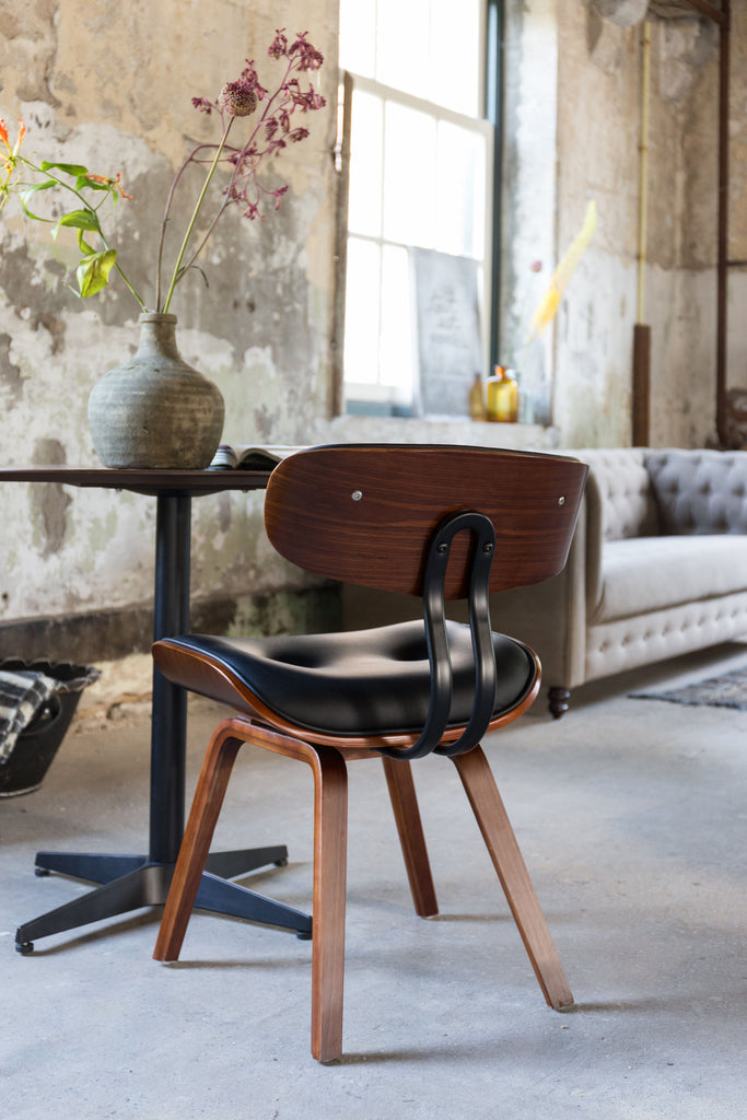 Blackwood PU Leather Chair