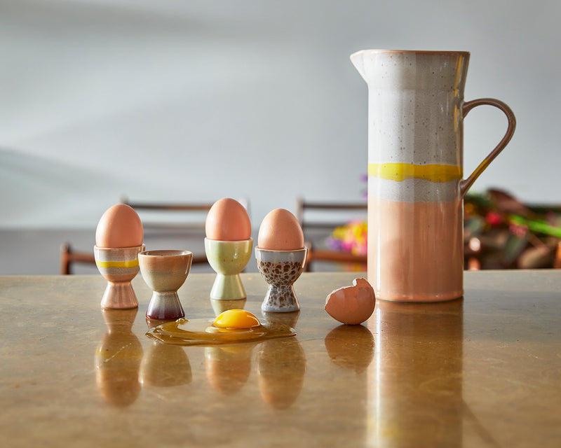70's Ceramics - Egg Cup Set of 4