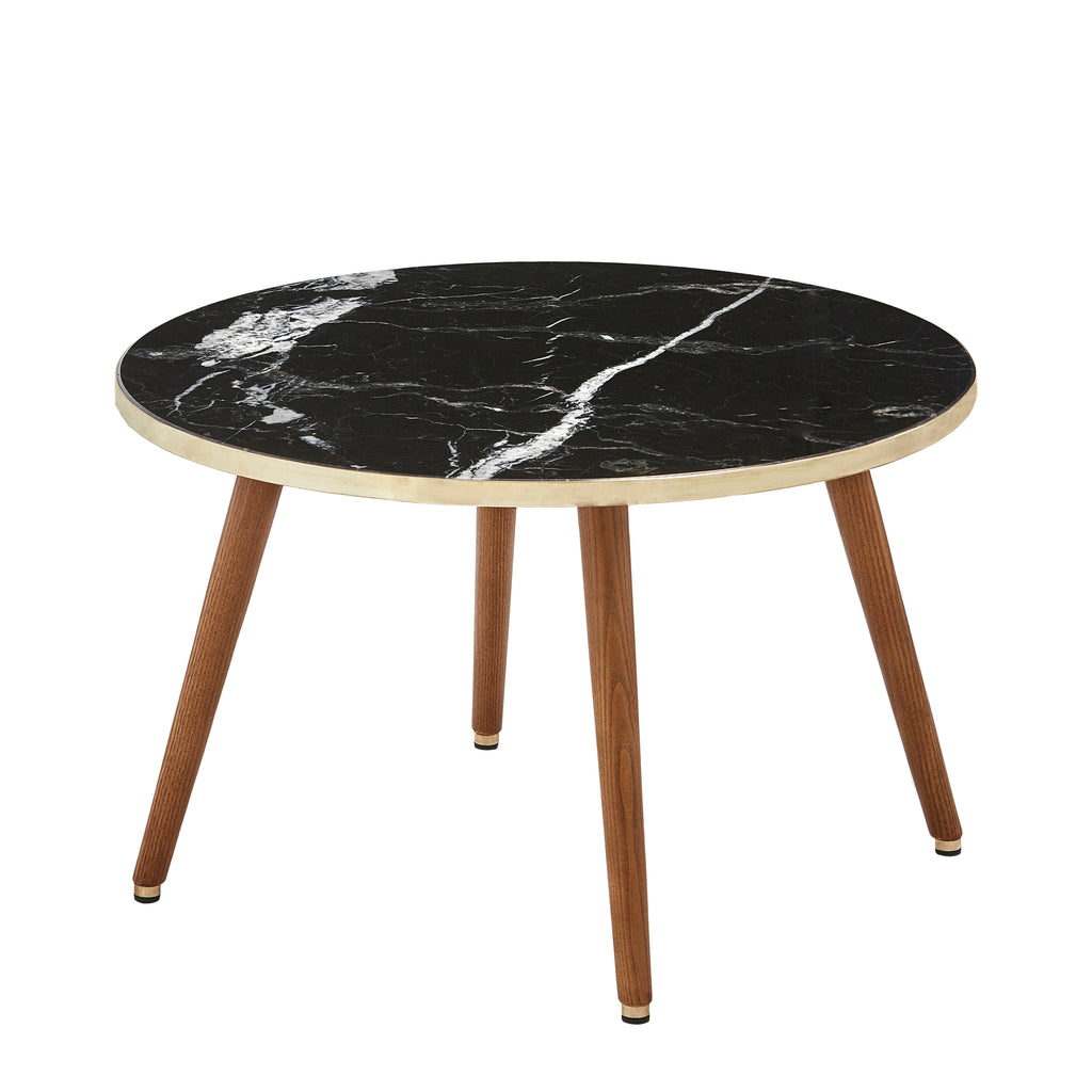 Fox Marble Round Coffee Table