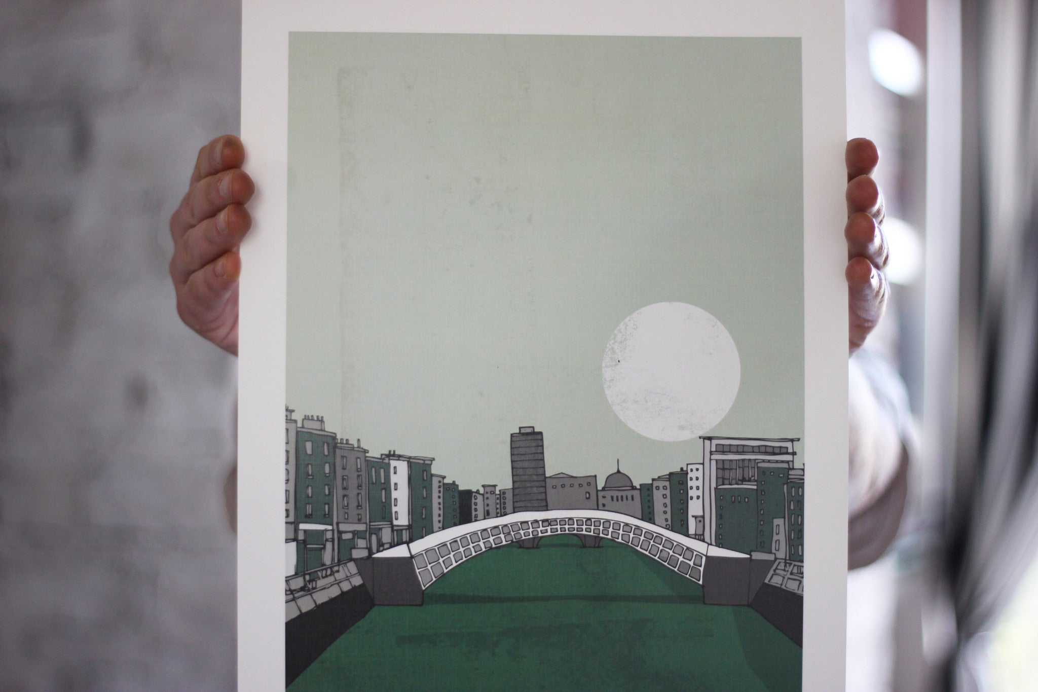 Dublin — The Liffey Print