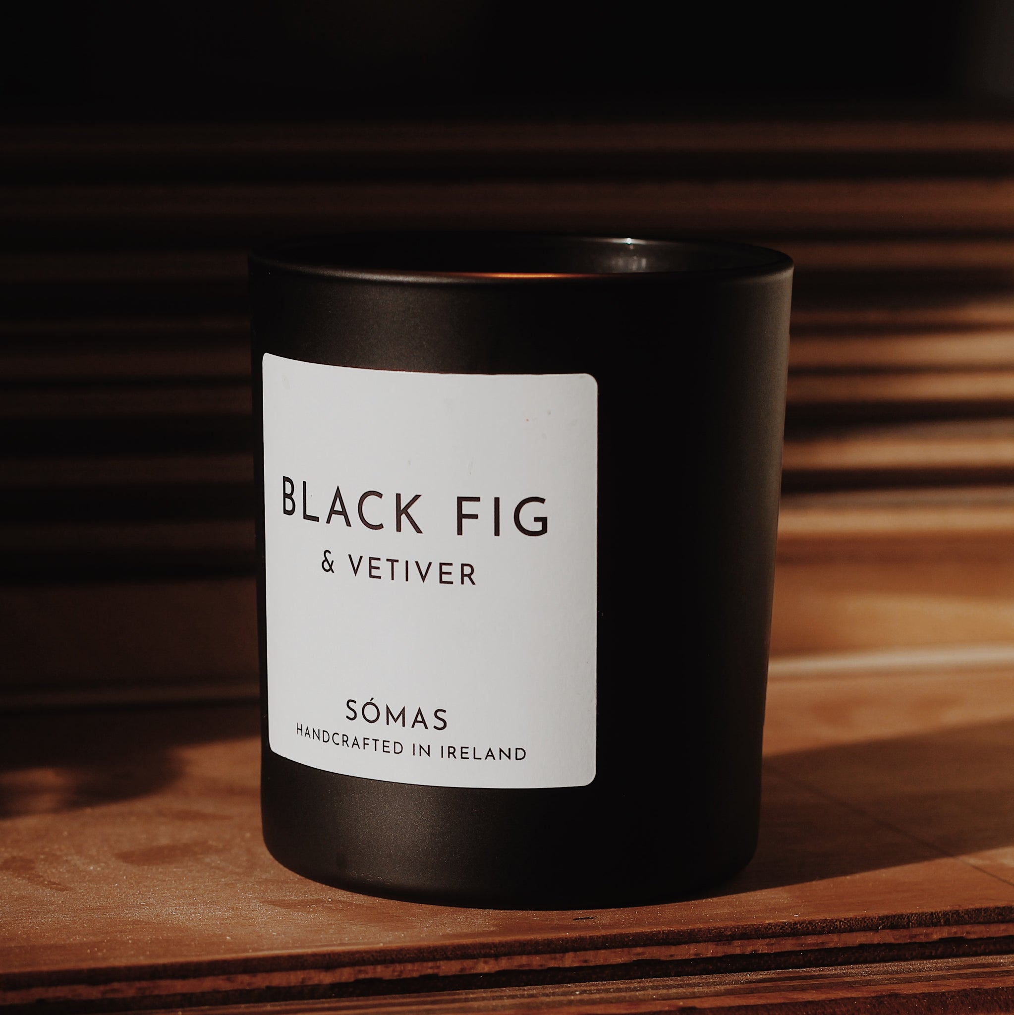 Black Fig and Vetiver Candle