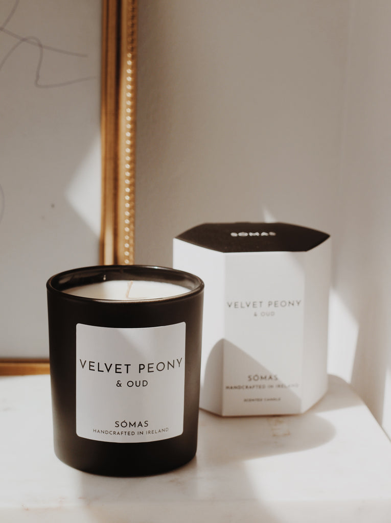 Velvet Peony and Oud Candle