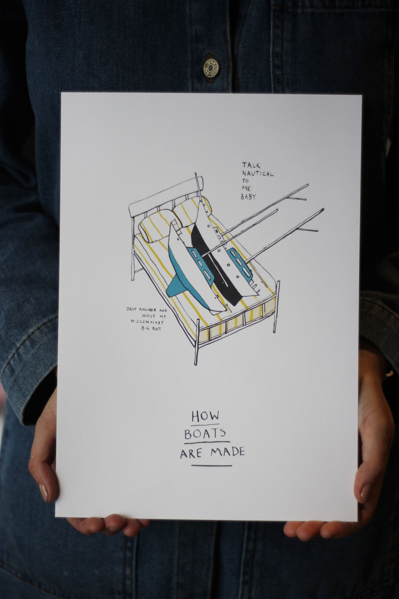 How Boats are Made Print