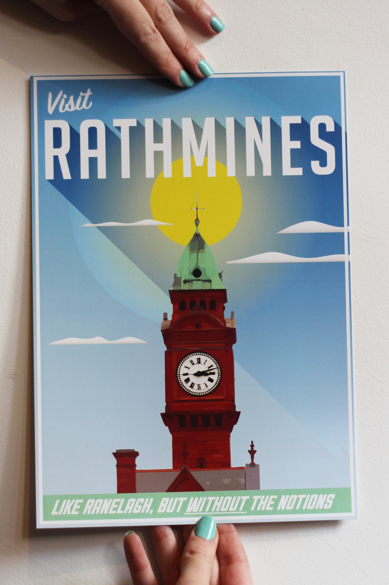 Visit Rathmines Art Print