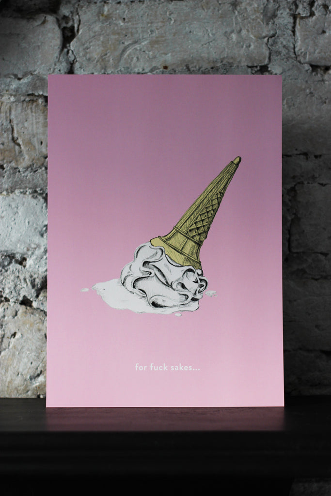 FFS Ice Cream Art Print