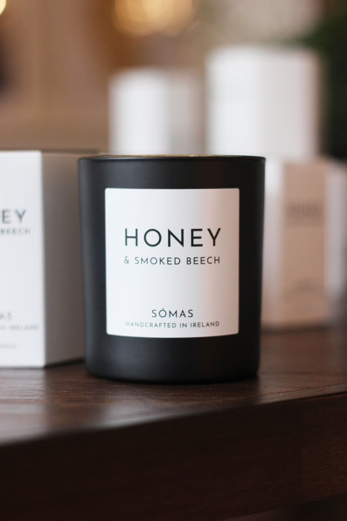 Honey and Smoked Beech Candle