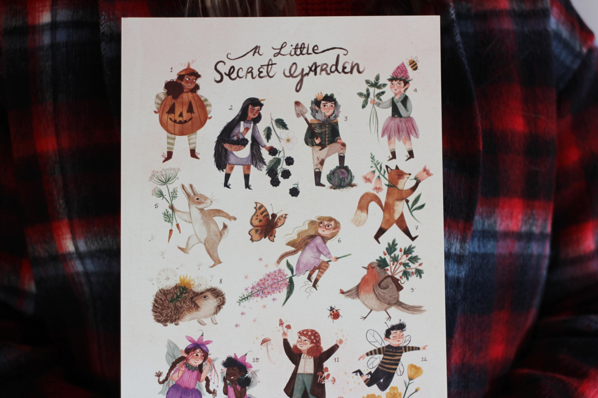 A Little Secret Garden Print