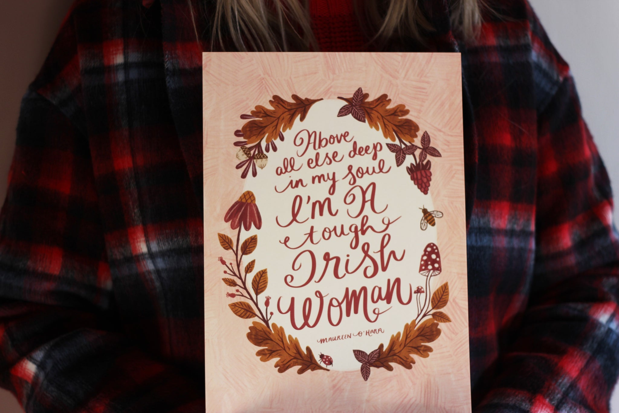 Tough Irish Woman Print