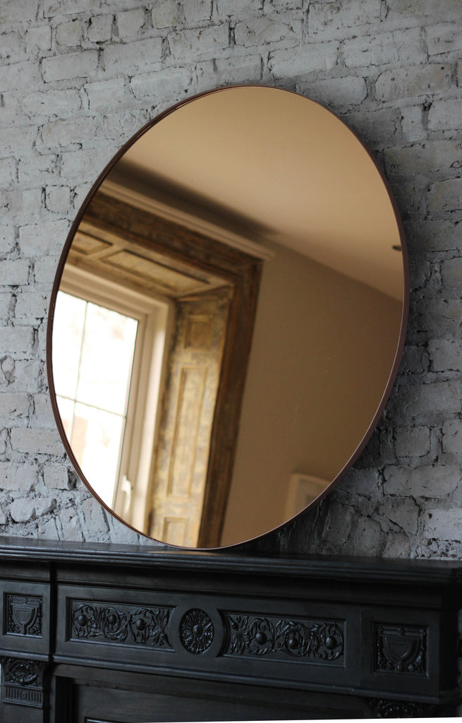 Large Circum Rose Round Mirror — 110cm Diameter