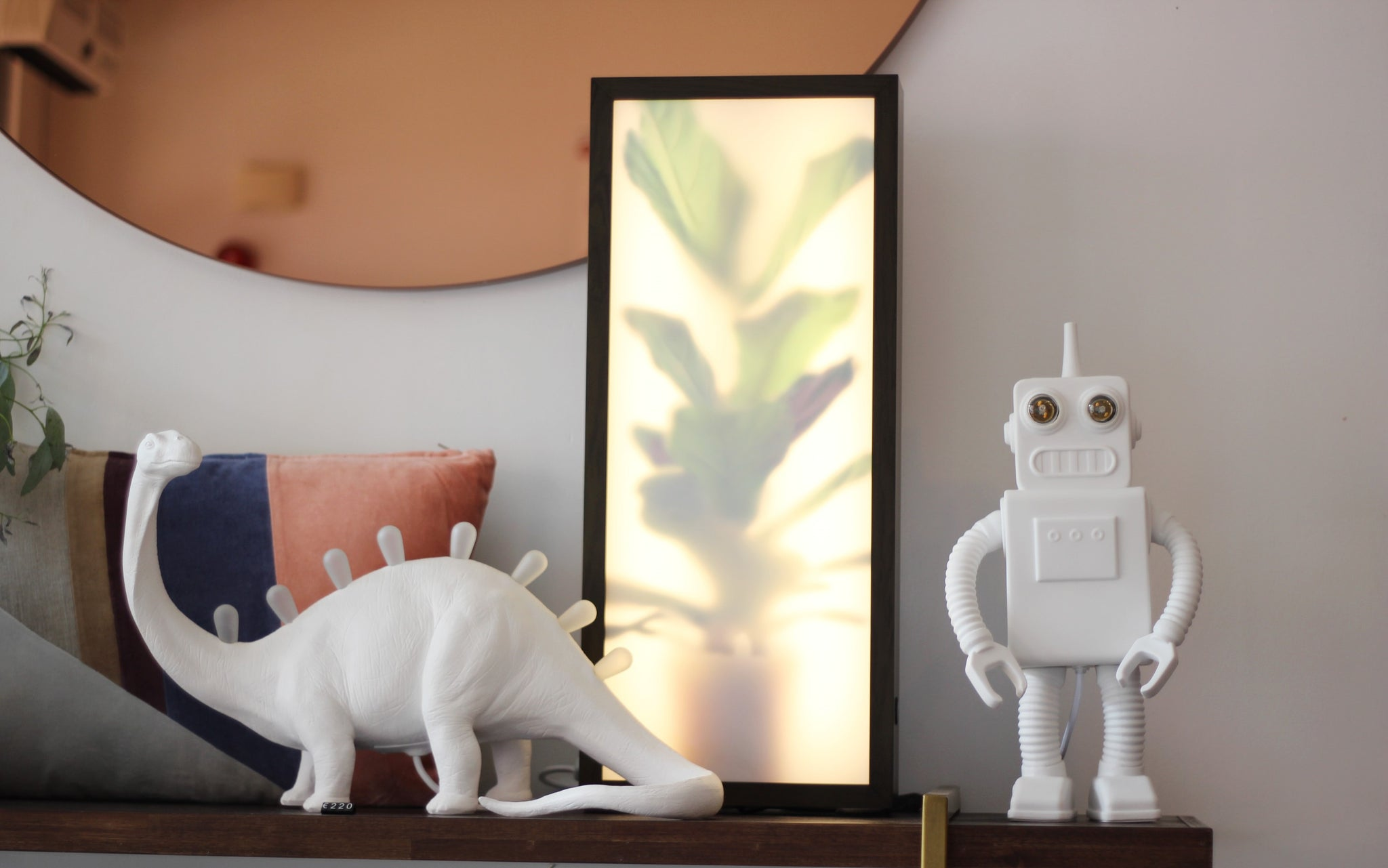Robot Lamp by Seletti