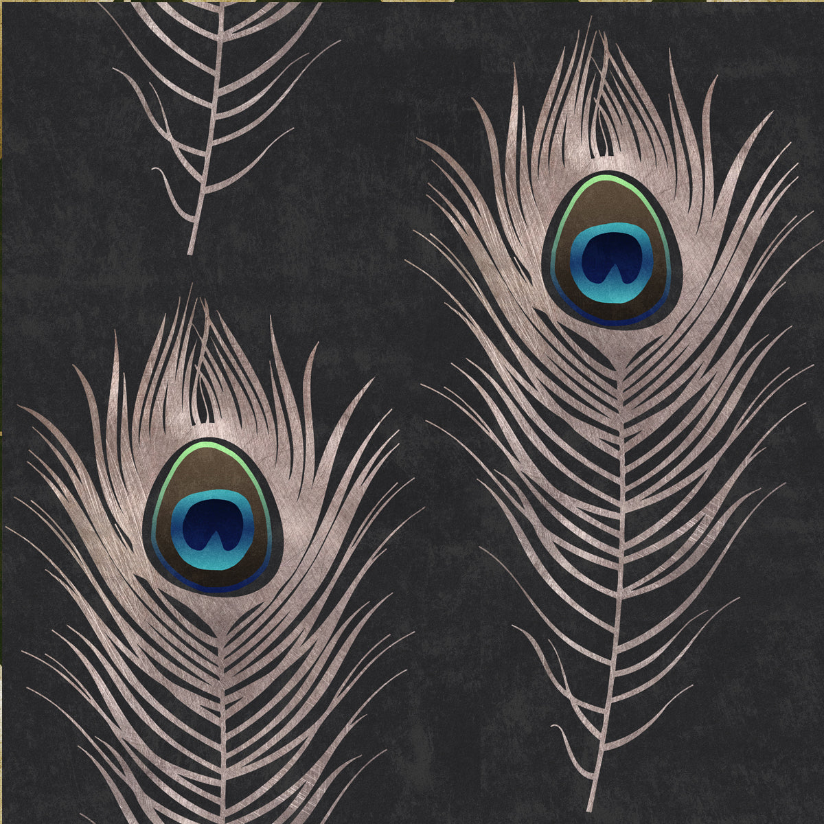 Peacock Feather Wallpaper – April & The BearFeather Background Twitter