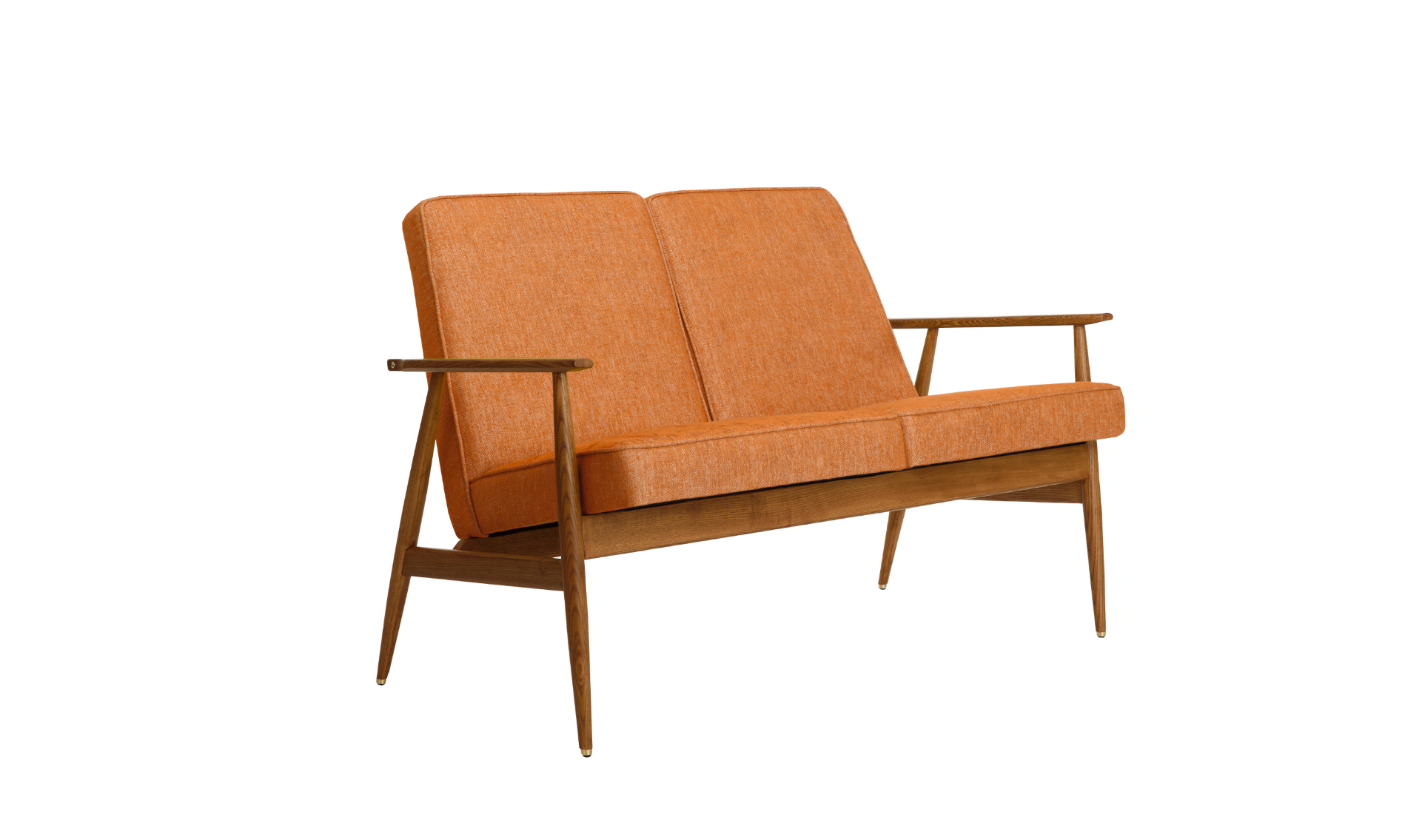 Fox 2 Seater Sofa - Mid Century Design