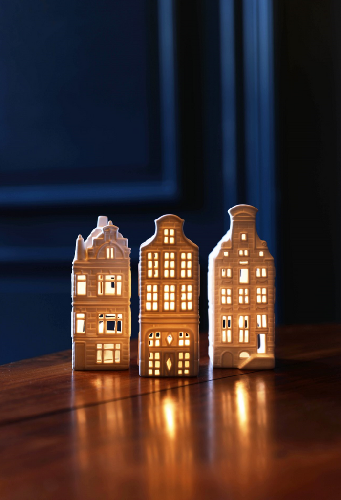 Canal House Tealight Holder Set Of 3