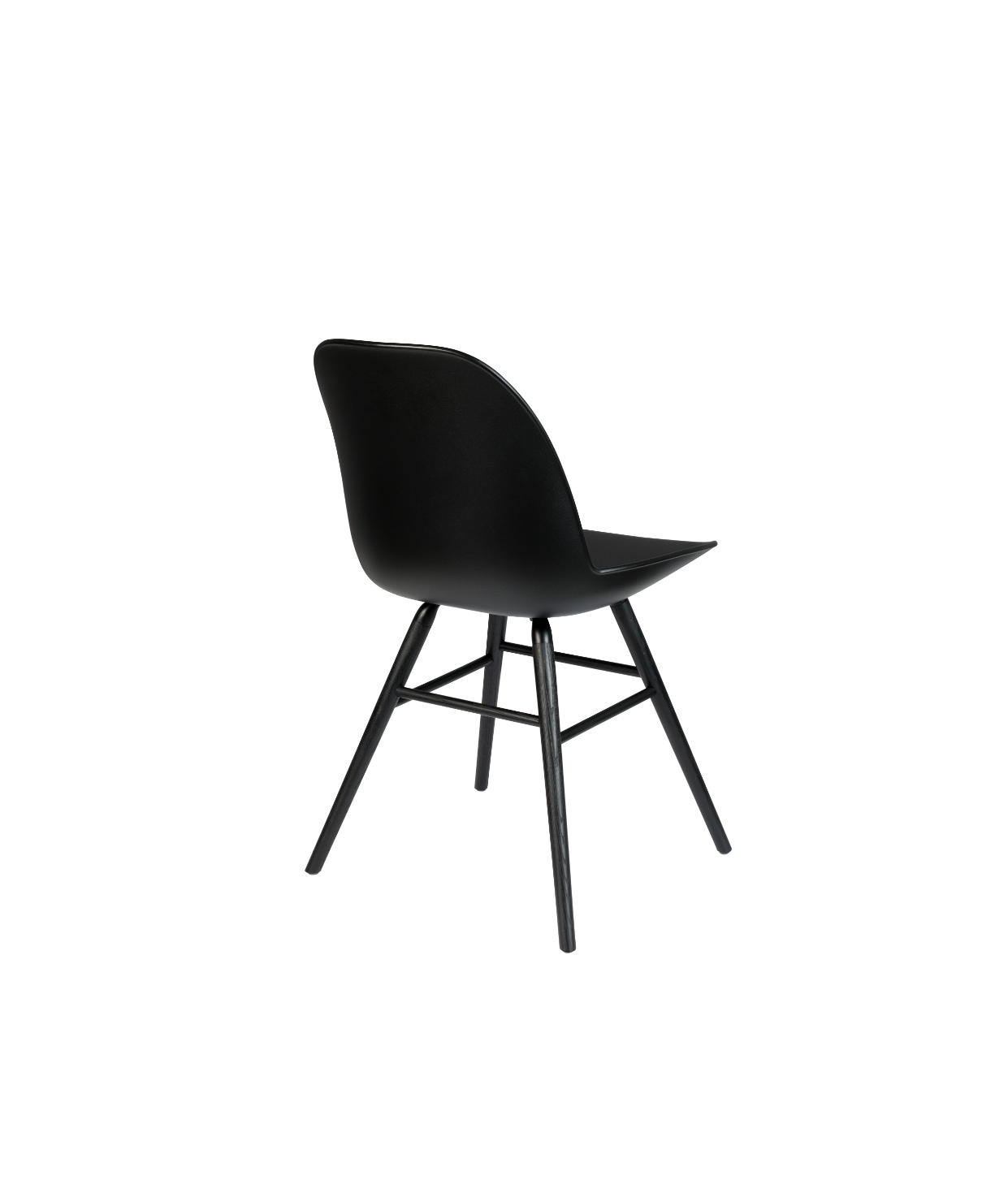 Albert Kuip ALL BLACK Dining Chair