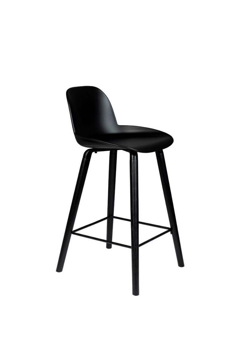 Albert Kuip ALL BLACK Counter Stool