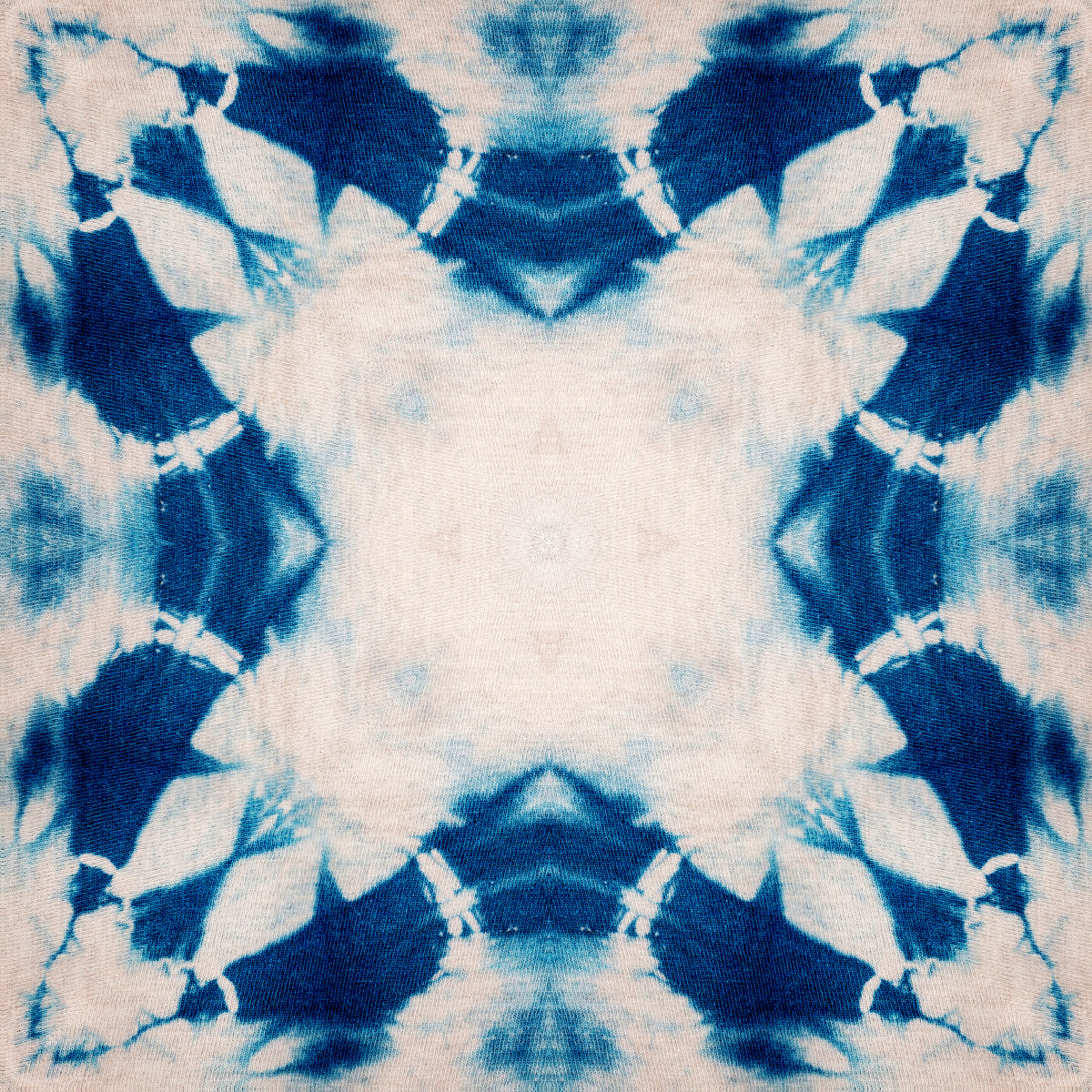 Shibori Flower Wallpaper