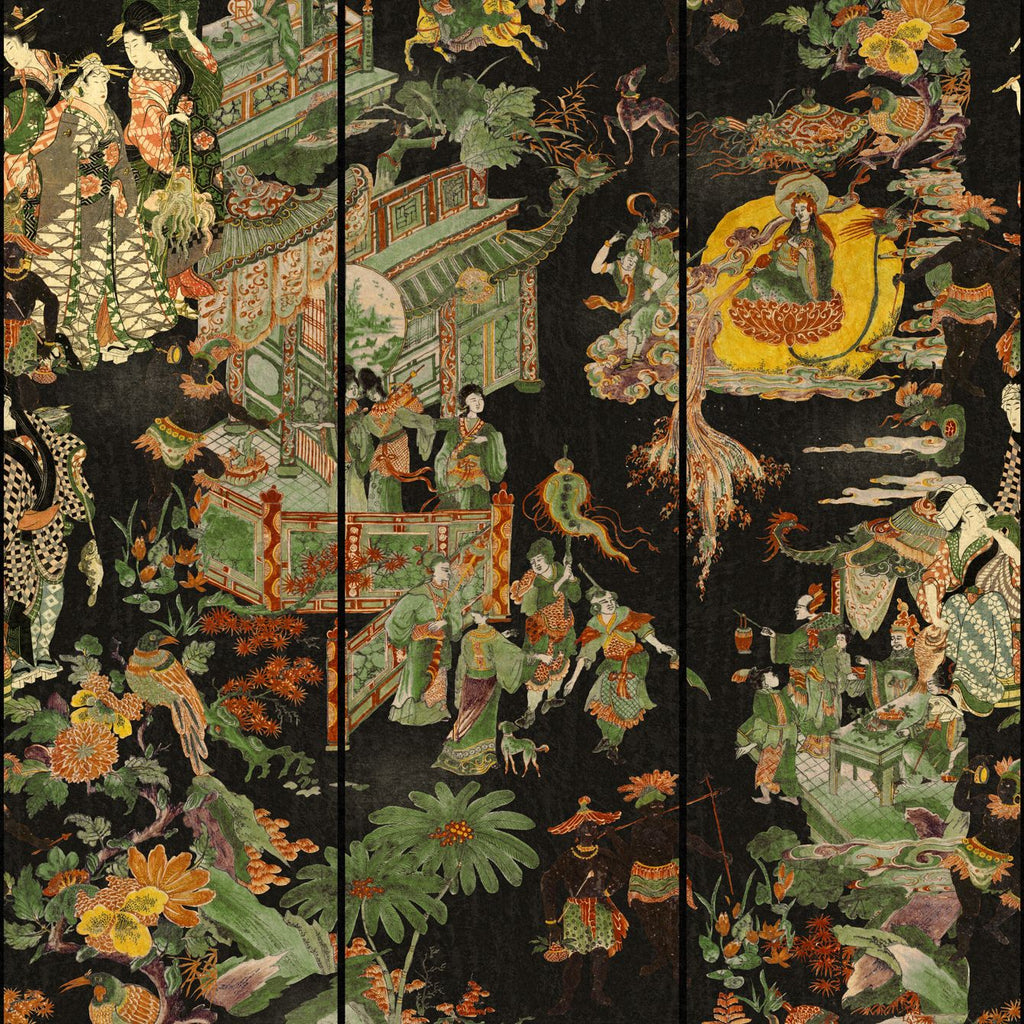 The Oriental Tale Wallpaper