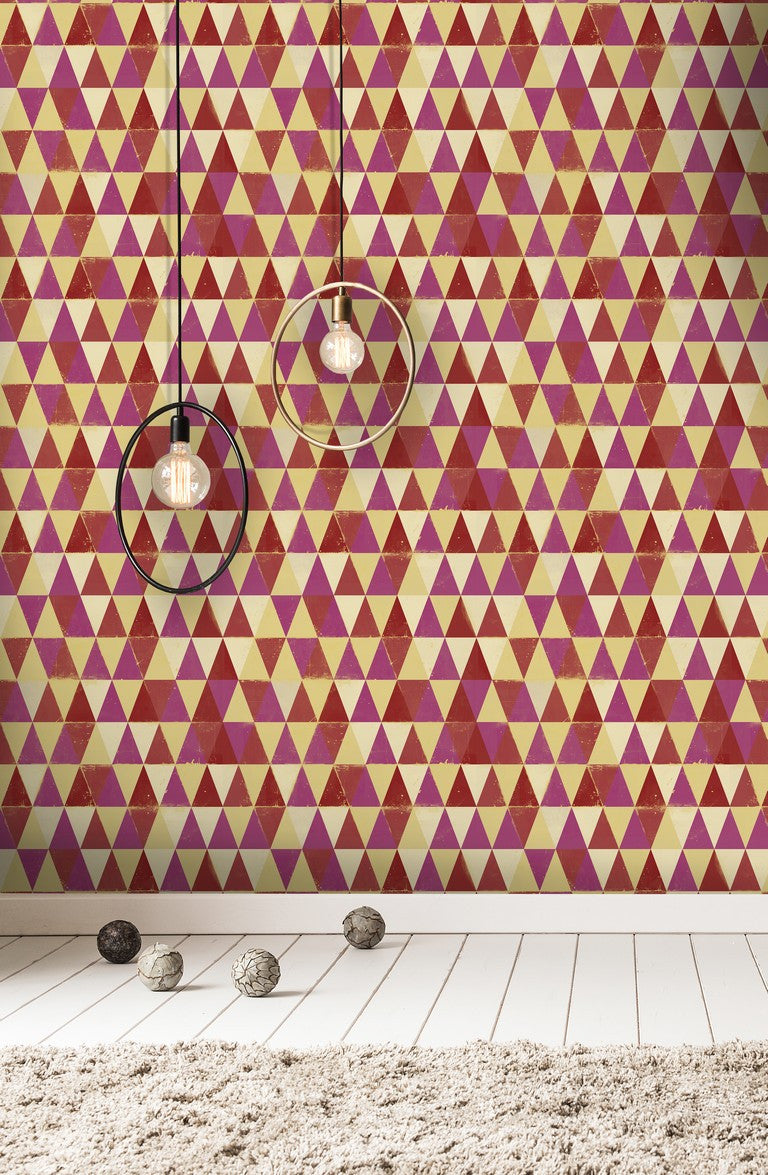 Circus Pattern Wallpaper