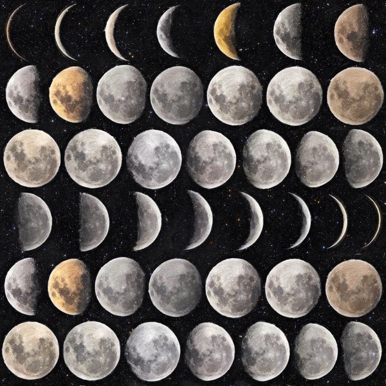 Moon Phases Wallpaper April The Bear