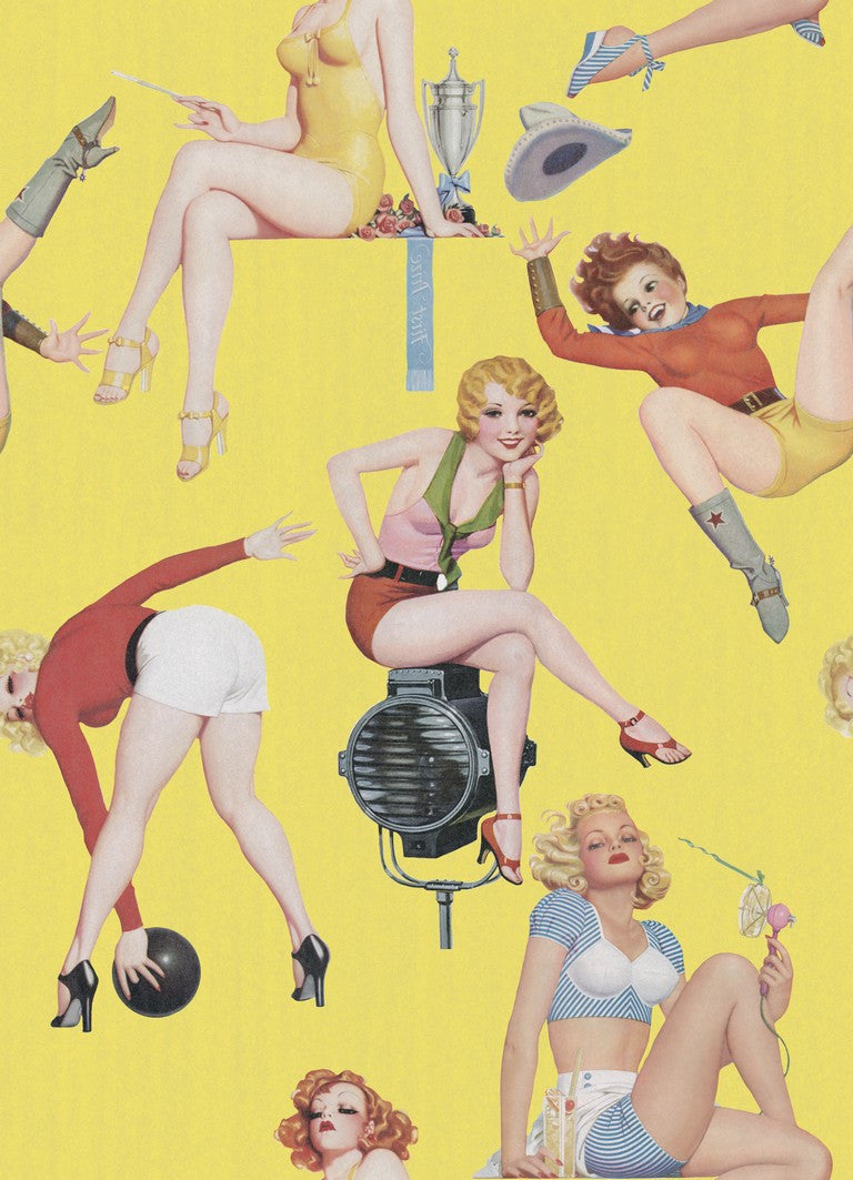 Pin-up Girls Wallpaper