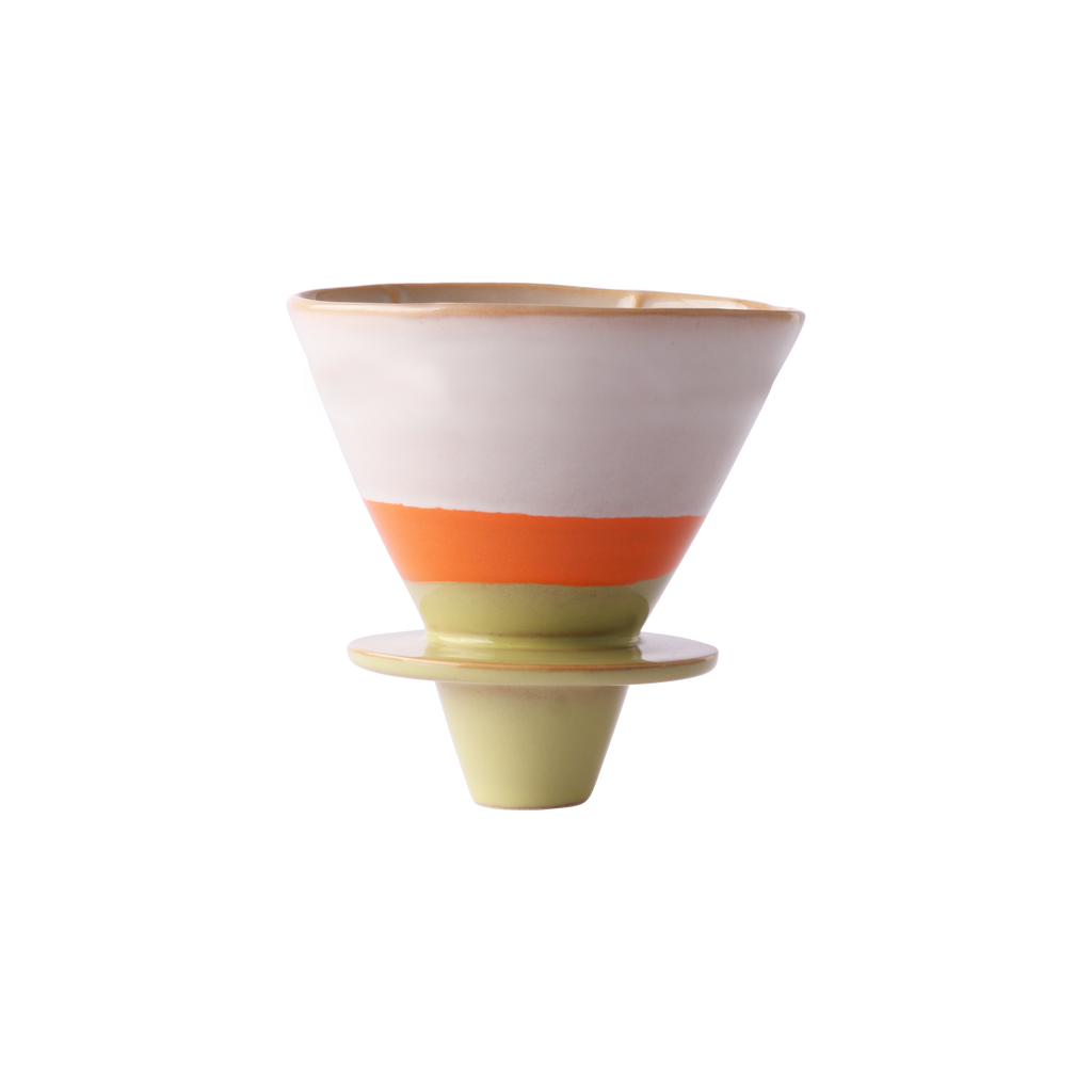 Ceramic 70's Coffee Filter