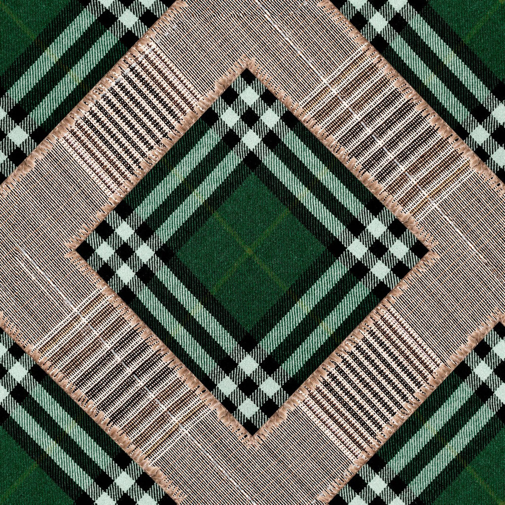 Checkered Patchwork Wallpaper