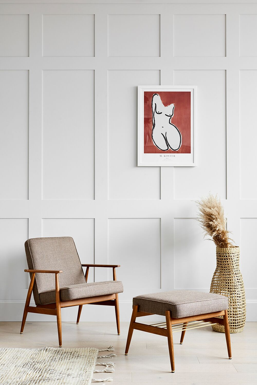 Fox Armchair - Mid Century Design