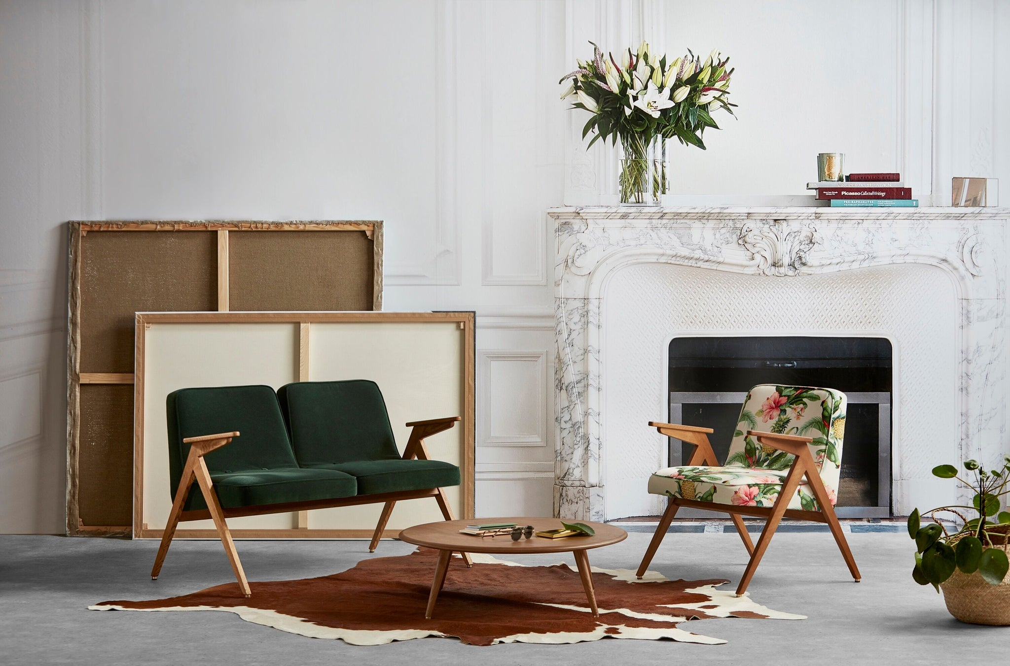 Bunny Series 2 Seater - Mid Century Design