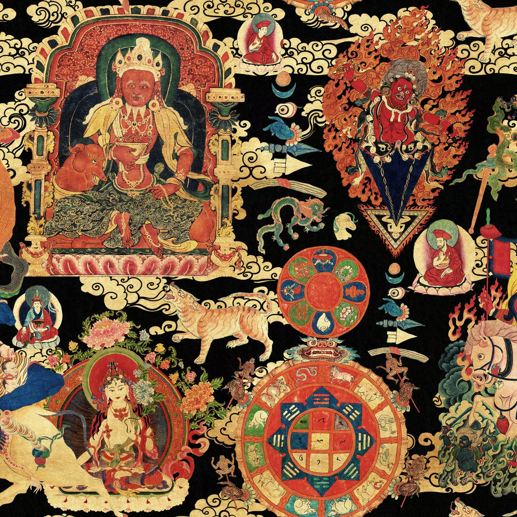 Tibetan Tapestry Metallic Edition
