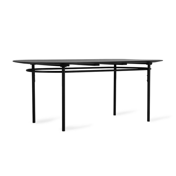 Black Oval Dining Table