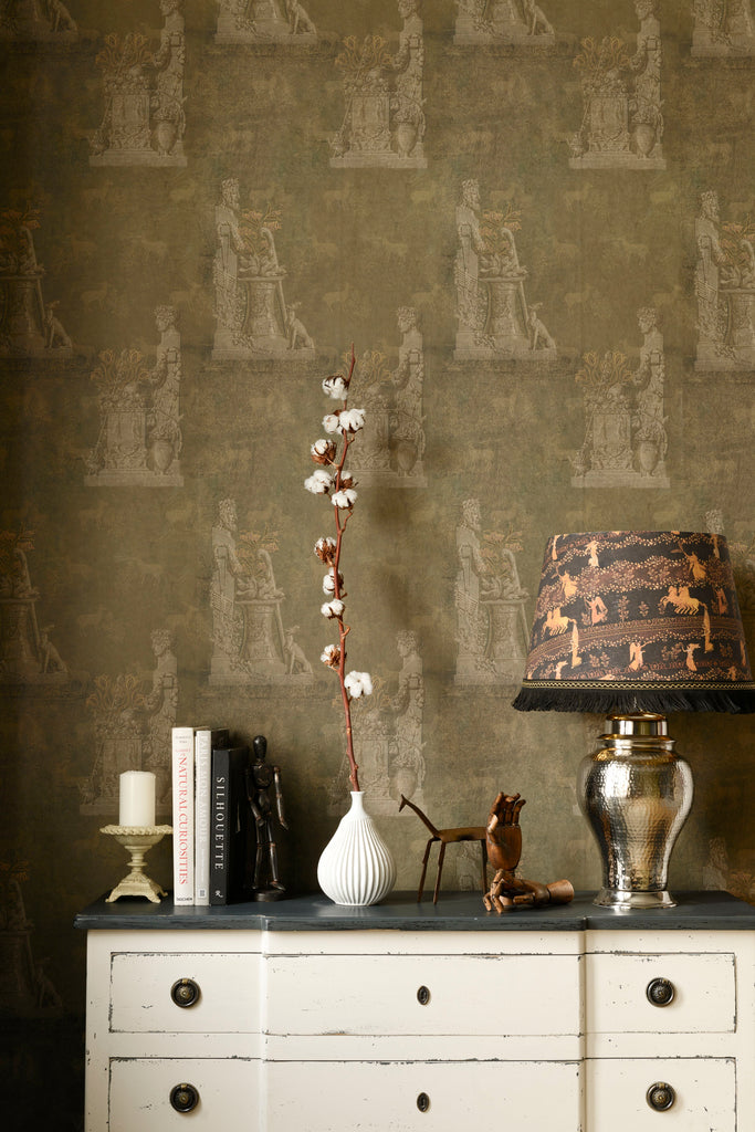 Sculptural Wallpaper