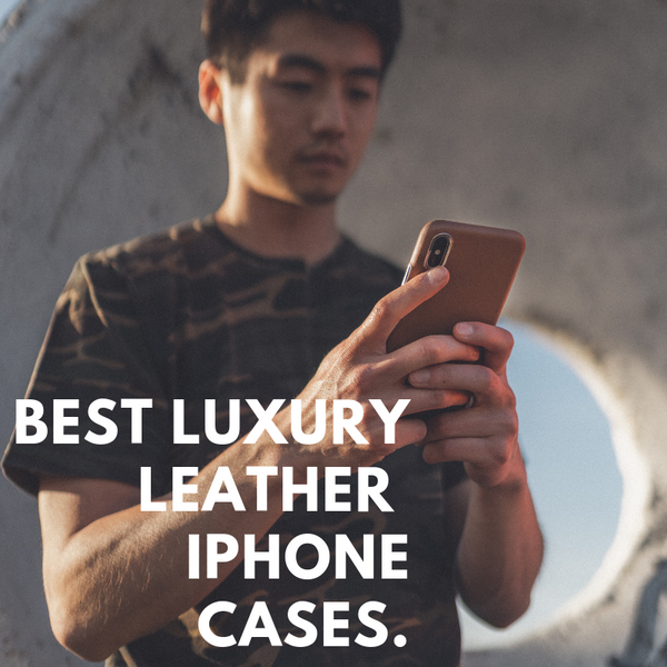 Best Luxury Leather iPhone Cases: Meet the Ferra from Hitcase