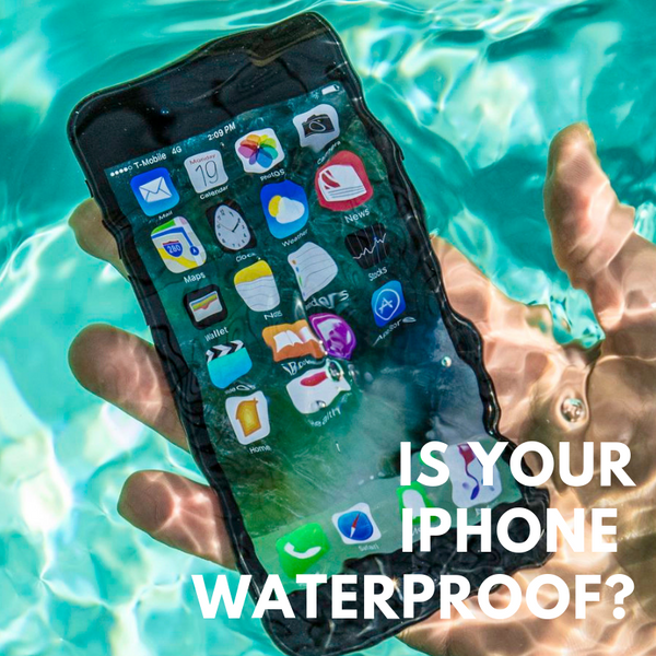 Is Your Phone Waterproof? iPhone X Cases and More | Hitcase