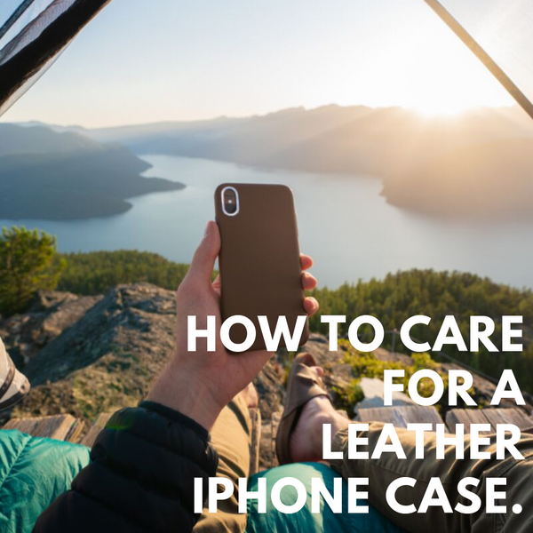 How to Clean a Leather iPhone Case