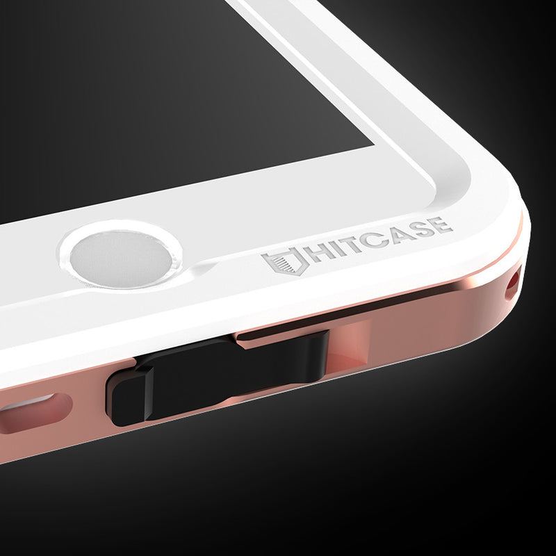 hitcase shield pink metal iphone case