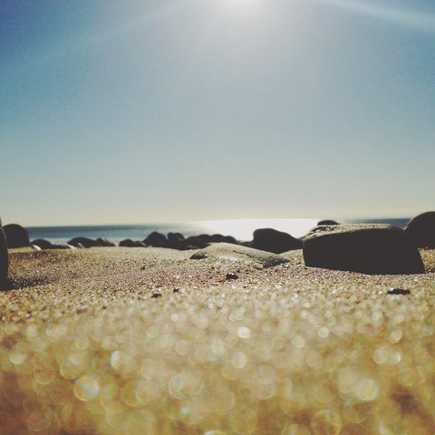 Create a Bokeh Effect Using your iPhone Camera and Sand
