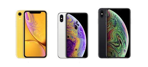 iPhone XR vs Xs and Xs Max