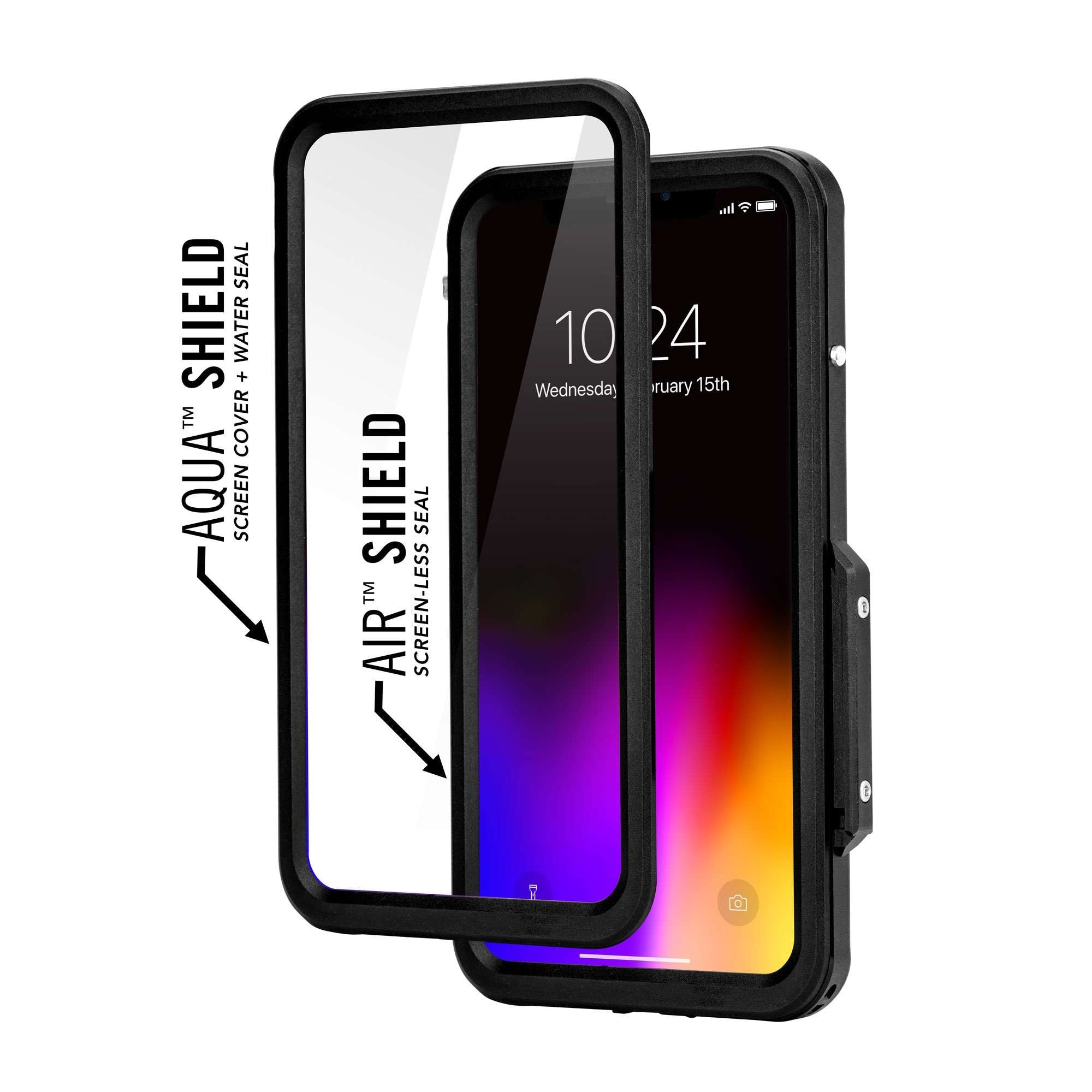 Aluminum Waterproof Iphone Xs Max Case Pro Hitcase
