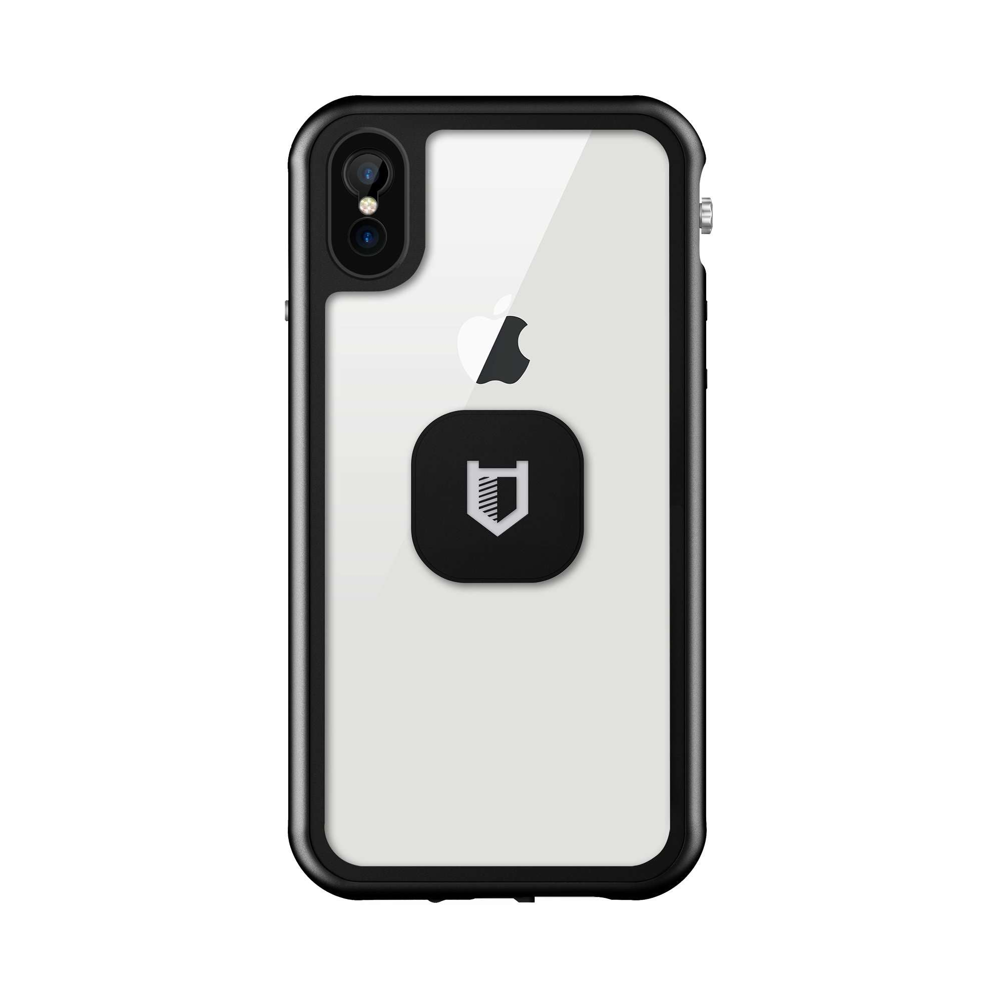 magnetic iphone xr case clear